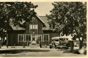 Hölö station 1930-talet