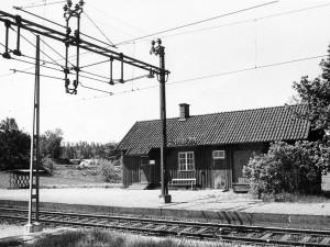 Norrvrå station 1956