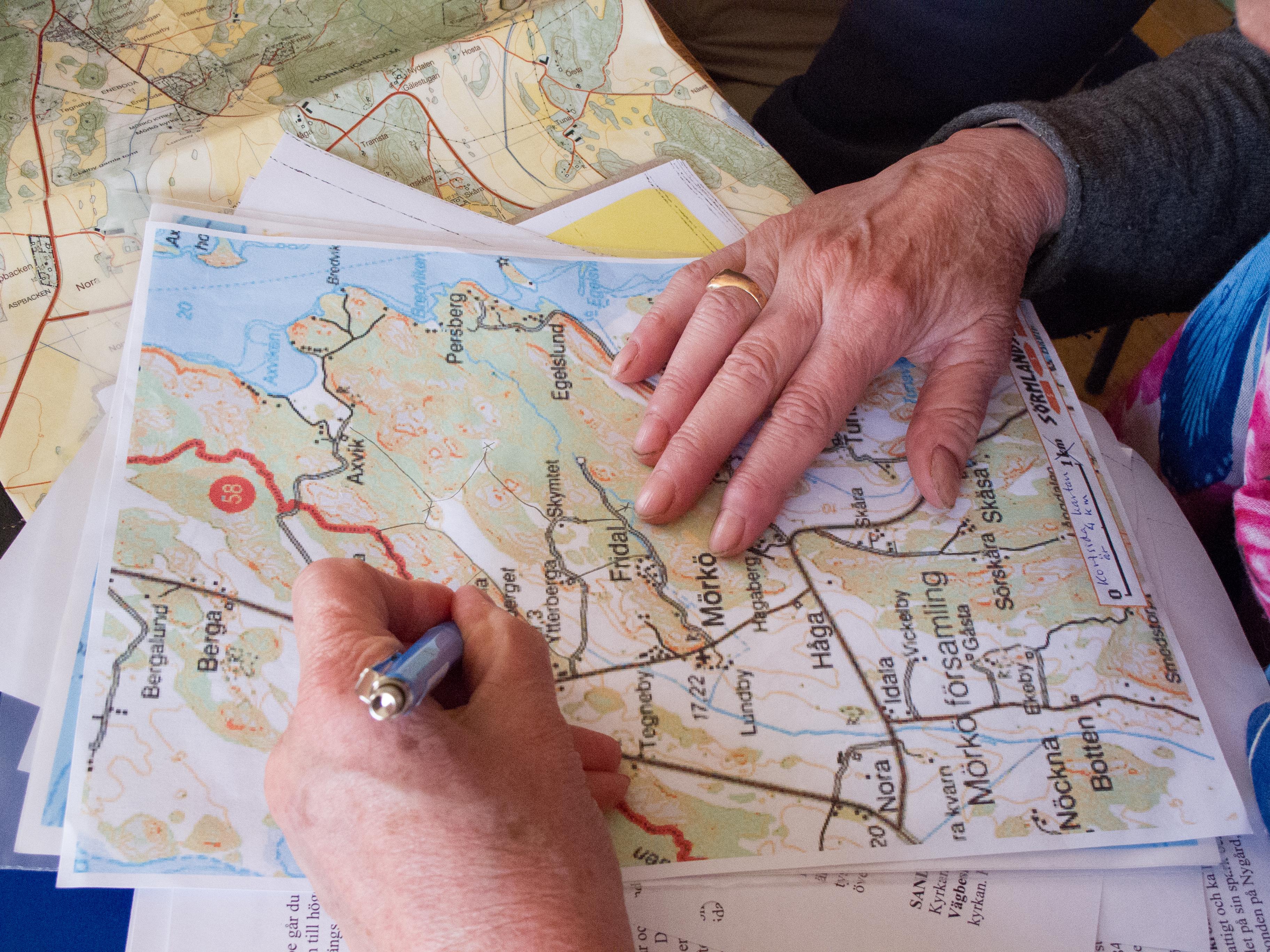 karta oaxen Kartor med vandringsleder | Hölö Mörkö Hembygdsförening karta oaxen